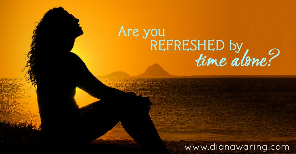 Are you refreshed by time alone? Intrapersonal